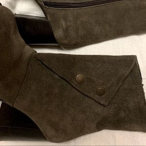 Fabrizio Suede Leather Boots